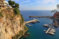 Panoramic view of Monte Carlo Royalty Free Stock Photography