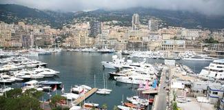 Panoramic view Monte Carlo Monaco Stock Photo