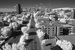 Panoramic View of Montreal, Quebec Stock Photography
