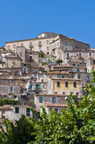 Panoramic view of Morano Calabro. Calabria. Italy. Stock Image