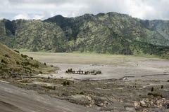 Panoramic view from Mount Bromo, Tengger Semeru National Park, East Java Royalty Free Stock Image
