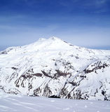 Panoramic view on mount Elbrus Stock Images