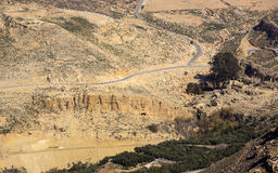 Panoramic view of Mount Nebo Royalty Free Stock Photos