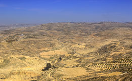 Panoramic view of Mount Nebo Royalty Free Stock Photography