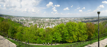 Panoramic view. Mountain Royalty Free Stock Photography
