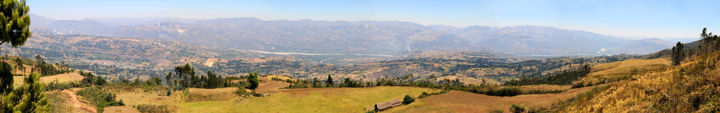 Panoramic View of Mountaing Range Royalty Free Stock Photography