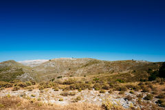 Panoramic View Of Mountains Landscape in Malaga Stock Photography