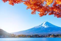 Panoramic view of Mt.Fuji stock photo
