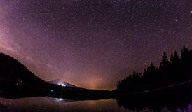 Panoramic view of Mt.Hood Royalty Free Stock Photo