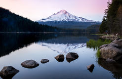 Panoramic view of Mt.Hood Stock Photography