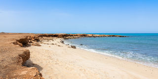 Panoramic view of Murdeira bay beach in Sal Cape Verde - Cabo Ve Stock Photos