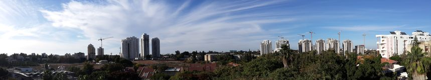 Panoramic view of my home view Stock Image