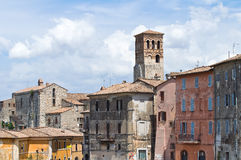 Panoramic view of Narni. Umbria. Italy. Stock Photos