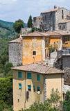 Panoramic view of Narni. Umbria. Italy. Royalty Free Stock Photos