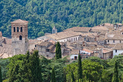 Panoramic view of Narni. Umbria. Italy. Stock Photo
