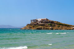 Panoramic view in Naxos island, Cyclades Royalty Free Stock Image