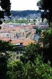 Panoramic view of Nice city Royalty Free Stock Photos