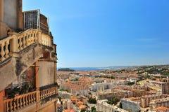 Panoramic view on Nice, France Stock Photos