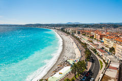 Panoramic view of Nice, France Royalty Free Stock Photography