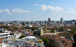 Panoramic view of Nicosia, Cyprus Stock Photography