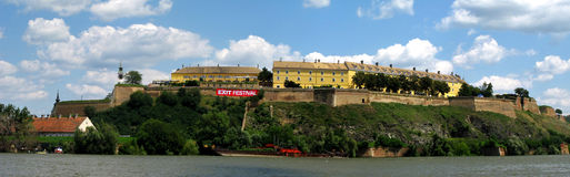 Panoramic view of Novi Sad, Serbia - Place of EXIT music festival Stock Photo