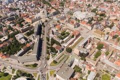 Panoramic view of Novi Sad, Vojvodina, Serbia Stock Photos