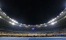 Panoramic view of NSC Olympic stadium in Kyiv, Ukraine Stock Image
