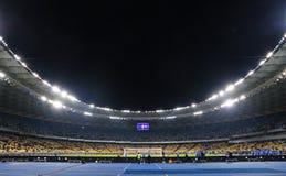 Panoramic view of NSC Olympic stadium in Kyiv, Ukraine Stock Image
