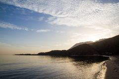 Panoramic View Of Aqaba Bay, Red Sea Stock Photography