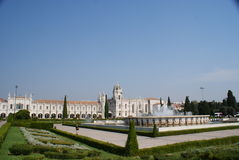 Panoramic View Of Belem Monastery Stock Images