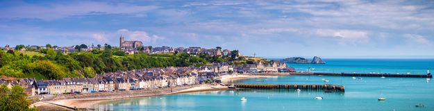 Free Panoramic View Of Cancale, Located On The Coast Of The Atlantic Royalty Free Stock Photography - 100950947