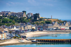 Free Panoramic View Of Cancale, Located On The Coast Of The Atlantic Stock Image - 98954771