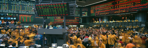 Free Panoramic View Of Chicago Mercantile Exchange Royalty Free Stock Image - 52264136