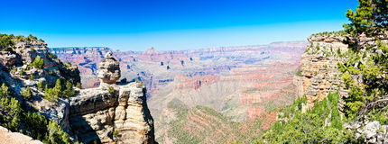Panoramic View Of Grand Canyon Stock Images