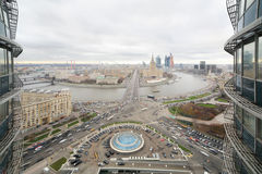 Panoramic View Of Moscow Royalty Free Stock Photo