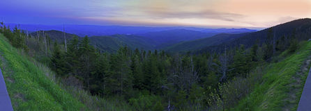 Free Panoramic View Of Smoky Mountains National Park In Summers Royalty Free Stock Photo - 32993145