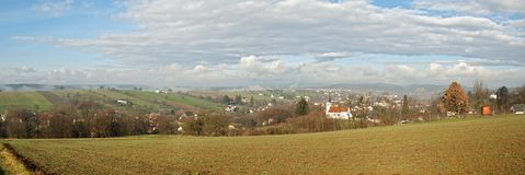 Free Panoramic View Of South Burgenland, Austria Stock Image - 51941261