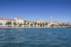 Panoramic View Of Split Croatia Stock Images