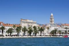 Panoramic View Of Split Croatia Royalty Free Stock Photography