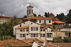 Panoramic view of Ohrid. Macedonia Royalty Free Stock Photos