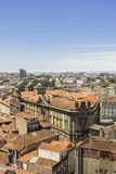 Panoramic view of old downtown, Porto cityscape. Royalty Free Stock Photos