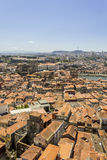 Panoramic view of old downtown, Porto cityscape. Stock Images