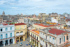 Panoramic view of Old Havana Royalty Free Stock Images