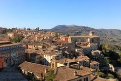 Perugia`s panorama Royalty Free Stock Photo