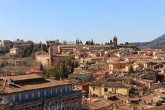 Perugia`s panorama Stock Images