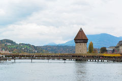 Panoramic view of old town of Lucerne Stock Photo