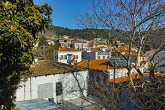 Panoramic view of old town of Xanthi, East Macedonia and Thrace Stock Images