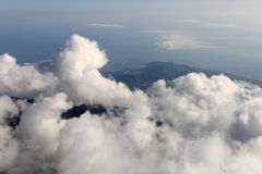 The panoramic view from Olympos Mountain (Tahtali) Stock Images