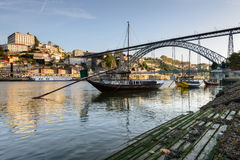Panoramic view of Oporto Portugal Royalty Free Stock Images