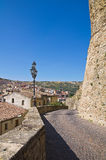 Panoramic view of Oriolo. Calabria. Italy. Royalty Free Stock Image